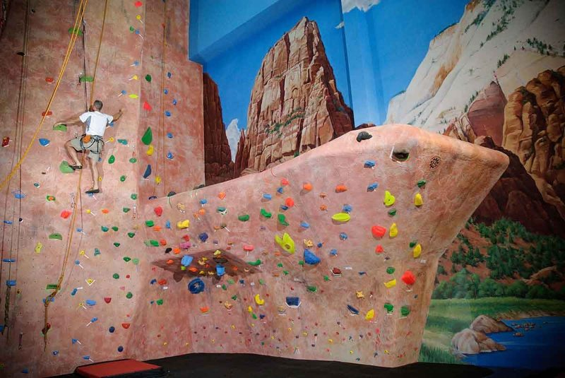 Rock Climbing Photo: Closer look at the bouldering