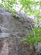 Rock Climbing Photo: The start of the climb.
