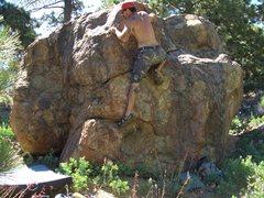 Rock Climbing Photo: Davi Rivas on Pinch-a-Loaf, Enlightenment Ridge, P...