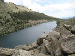 Rock Climbing Photo: Lincoln Lake.