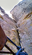 Rock Climbing Photo: Pearly gate