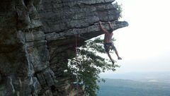 Rock Climbing Photo: Eric J (16)... this is why it's called the Dangler
