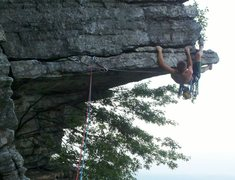 Eric on the final heel hook.
