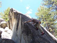 Rock Climbing Photo: Slappin the edge