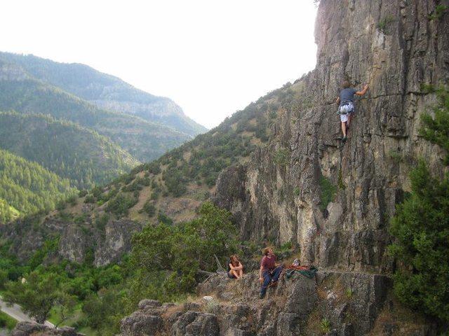 Rock Climbing Photo: ah logan canyon.