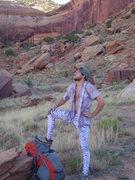 Rock Climbing Photo: uh huh