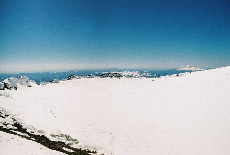 Summit Crater of Mt. Rainier.  June 2011