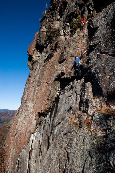 Rock Climbing Photo: Alan and I