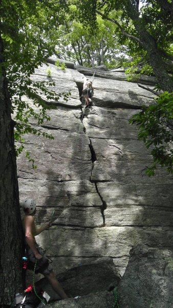 Rock Climbing Photo: My boys in the Gunks