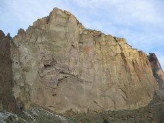 Rock Climbing Photo: Picnic Lunch wall is pretty big!