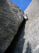 Rock Climbing Photo: Just bolt clippin' to go on Nacho Libre for the P ...