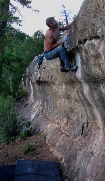 Rock Climbing Photo: And now for one of the trickiest top outs on the w...