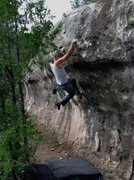 Rock Climbing Photo: Perfect movement...