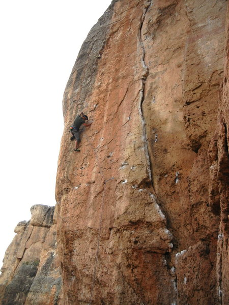 Rock Climbing Photo: Great route!