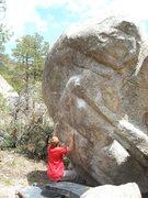 Rock Climbing Photo: The Hell Bitch boulder