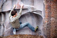 Rock Climbing Photo: Trevor on Lay Low