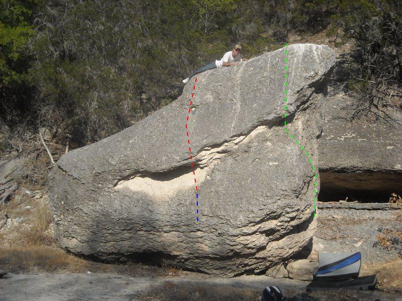 Rock Climbing Photo: GREEN: Nemesis