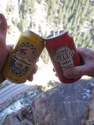 Rock Climbing Photo: Soft Lunch box = $17 Ice packs = $2 Ska Brewery mi...