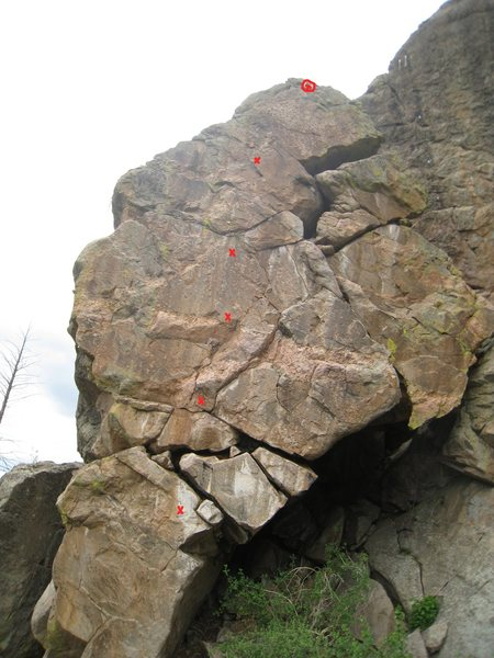 Rock Climbing Photo: This really is a superb route.