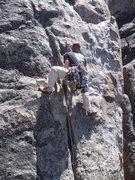 """Rock Climbing Photo: Standing up in a move on """"Hey y'all, watch th..."""