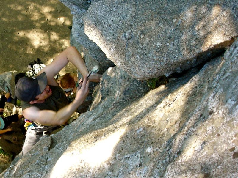 Rock Climbing Photo: fun little crack