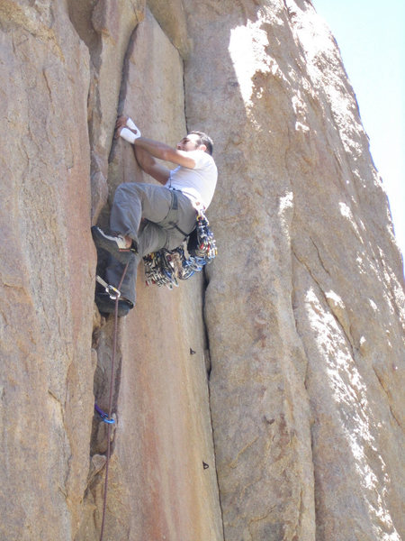 Rock Climbing Photo: Castle Crack