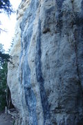 Rock Climbing Photo: The right hand most side of The Court House Wall. ...