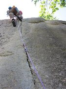 Rock Climbing Photo: Sweet finger crack