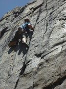 Rock Climbing Photo: Navigating the Holdless Horror