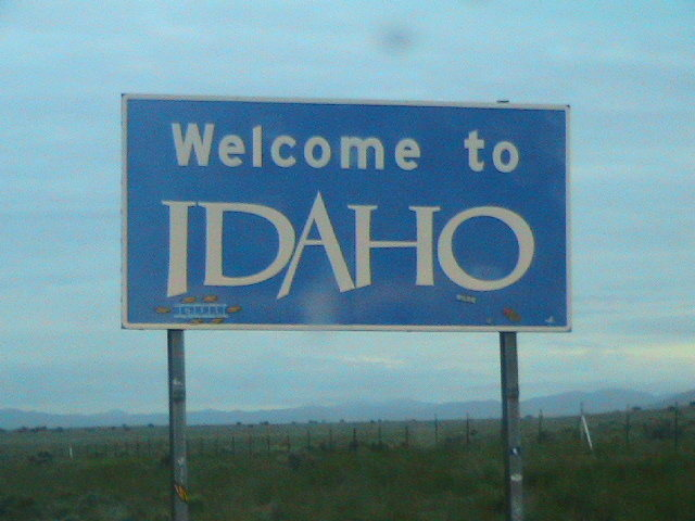 Welcome to Idaho!