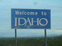 Rock Climbing Photo: Welcome to Idaho!