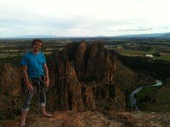 Rock Climbing Photo: Summit photo.