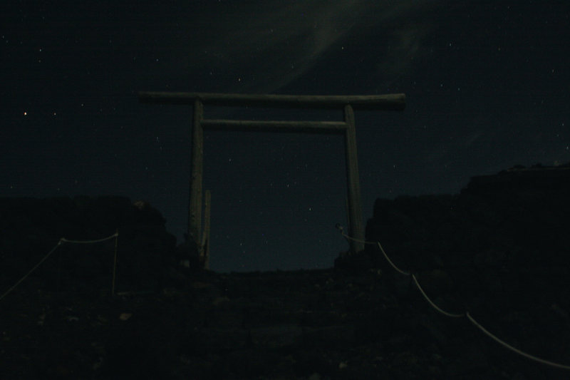 Rock Climbing Photo: The Torii gate at the top of the route, by moonlig...