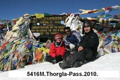 Rock Climbing Photo: Annapurna (Thorng Pass) Picture.