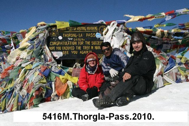 Rock Climbing Photo: Annapurna trekking Picture.