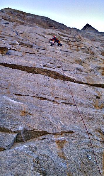 Rock Climbing Photo: Raging Raptor   -Brian Cooper