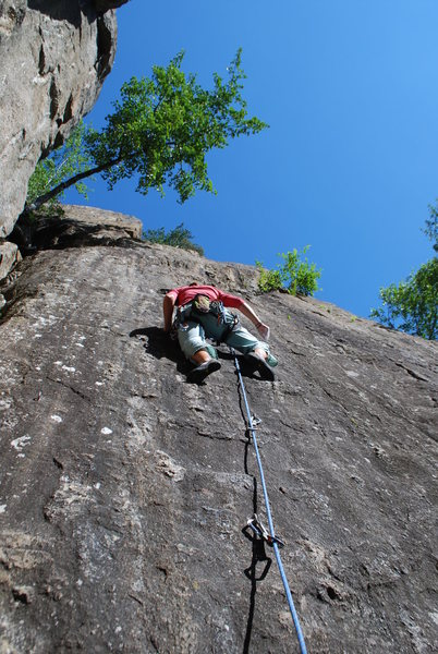 This crag is right in the middle of Oslo
