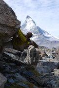 Rock Climbing Photo: Zermatt!