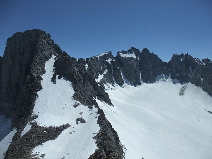 Rock Climbing Photo: Sill to T-bolt (24 July)