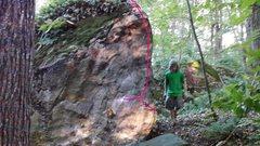 Rock Climbing Photo: beta for ham bone
