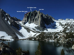 Rock Climbing Photo: more popular route options on Temple