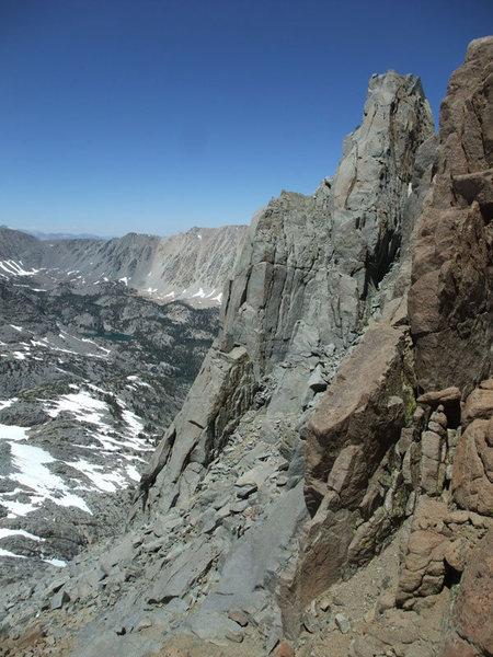 Rock Climbing Photo: Galey choss