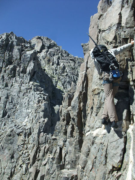 Rock Climbing Photo: Sun Ribbon Arete