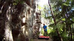 Rock Climbing Photo: The Sanctuary at Big Elk Meadows.