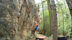 Rock Climbing Photo: The Sanctuary, Big Elk Meadows.