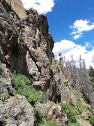 Rock Climbing Photo: First Wall.