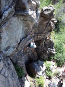 Rock Climbing Photo: Lower Cliff.
