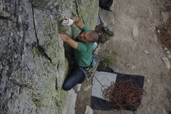 Rock Climbing Photo: Scratch and Sniff   Photo by Brian Cooper