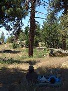 Rock Climbing Photo: Enlightenment Ridge, Pine Mountain.
