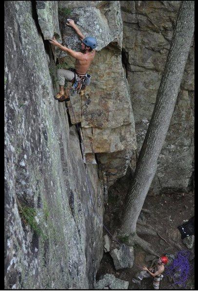 Rock Climbing Photo: Love this climb for some reason